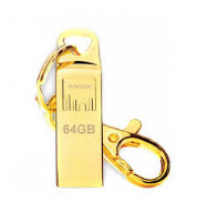Strontium AMMO Gold 64GB USB Flash Drive FREE Key Chain Included