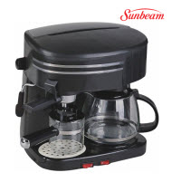 Sunbeam SECC-300 3-in-1 Espresso/Cappuccino/Drip/ Coffee Machine