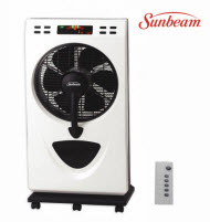 Sunbeam SMBFR-12 30cm Mist Box Fan with Remote & LED Display Scr