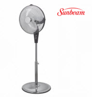 Sunbeam SUN-0015A 40cm Chrome Pedestal Fan