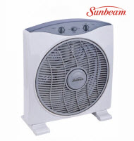 Sunbeam SUN0020C 30cm Deluxe Box Fan with Timer