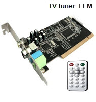TV Tuner Card with Function FM & Remote
