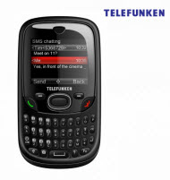 Telefunken TCP-014B Dual SIM Qwerty Type Cell Phone