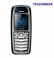 Telefunken TCP-020A 3SIM Bar Type Cell Phone