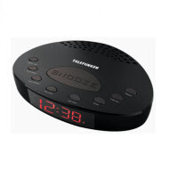 Telefunken TCR-004B FM Alarm Digital Clock Radio