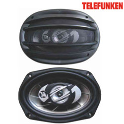 Telefunken TCS-6962R 500W 3Way Car Speakers