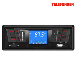 Telefunken TDC-311 2.2 inch Fixed Panel Deckless Car Mp3 Player