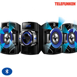 Telefunken TDH-200BT Bluetooth Mini HiFi DVD Player Sound System