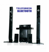 Telefunken THT-906 HDMI 5.1 Ch Full DVD Tall Boy Home Theatre Sy