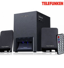 Telefunken THTS-210 2.1Ch Home Theatre Speaker with FM