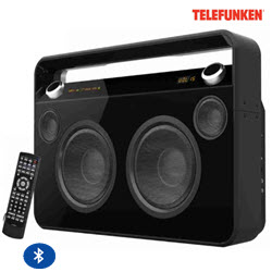 Telefunken TMMS-950BT Mobile Multimedia Bluetooth Portable Speak