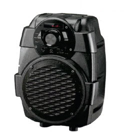 Telefunken TTS-5x2BT 6.5 Inch Trolley Speaker with Bluetooh