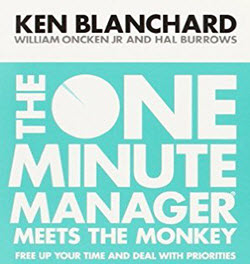 The One Minute Manager Meets the Monkey Paperbac