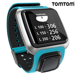 TomTom Golfer Smart Watch Scuba Sky Blue