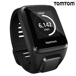 TomTom Spark 3 GPS Fitness Smart Watch Small Black