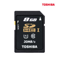 Toshiba SD-T008UHS1 8GB SD Card