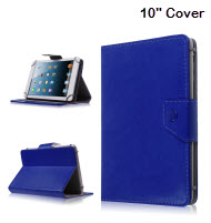 Universal 10 inch Tablet Cover - Blue