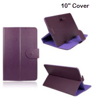 Universal 10 inch Tablet Cover - Purple