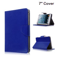 Universal 7 inch Tablet Cover - Blue