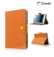 Universal 7 inch Tablet Cover - Orange