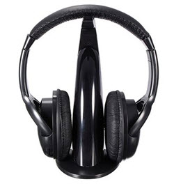 Wireless 5-in-1 Headphone with Mic FM radio