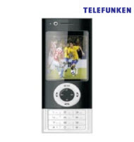 Telefunken TCP-011 Dual SIM Slide Quad Phone with TV function