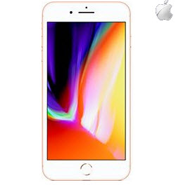 Apple iPhone 8 5.5 Inch 64GB Gold Imported