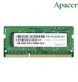 Apacer 8GB DDR3 1600 SODIMM 1.35v Notebook Memory