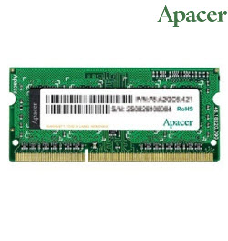 Apacer 4GB DDR3 1600 U-DIMM 1.35v NoteBook Memory