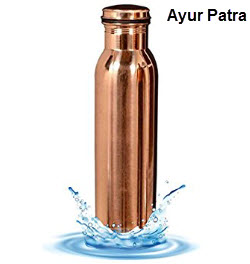 Ayur Patra 900ml Luxury Copper Water Bottle