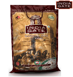 India Gate Classic Basmati Rice 5 kg Bag