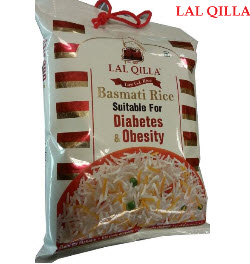 Lal Qilla Diabetes Basmati Rice 5Kg Bag