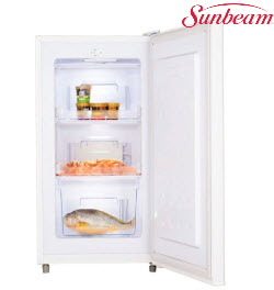 Sunbeam SUF-115W 115L Upright Single Door Freezer