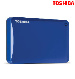 Toshiba Canvio Connect II 2TB USB3.0 Blue Ext Hard Drive
