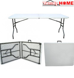 Totally Home FTT-001 Folding Trestle Table