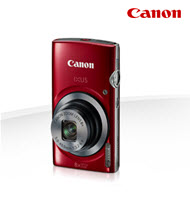 Canon PowerShot IXUS 160 Red 20MP Digital Compact Camera