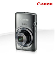 Canon PowerShot IXUS 160 Silver 20MP Digital Compact Camera