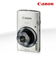 Canon PowerShot IXUS 160 White 20MP Digital Compact Camera