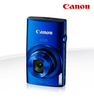 Canon PowerShot IXUS 170 Blue 20MP Digital Compact Camera