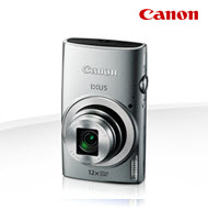 Canon PowerShot IXUS 170 Silver 20MP Digital Compact Camera