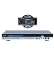Enzer EDVD-51 DVD Player with Microphone
