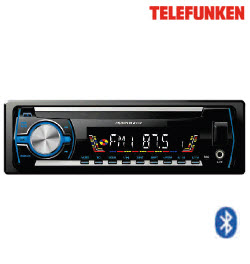 Telefunken TFCD-839BT Detachable BT CD Front Loader Car Player
