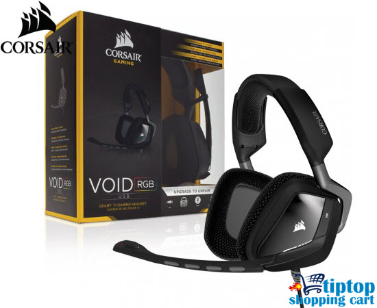 Corsaor VOID RGB USB Dolby 7 1 Gaming Headset, Online