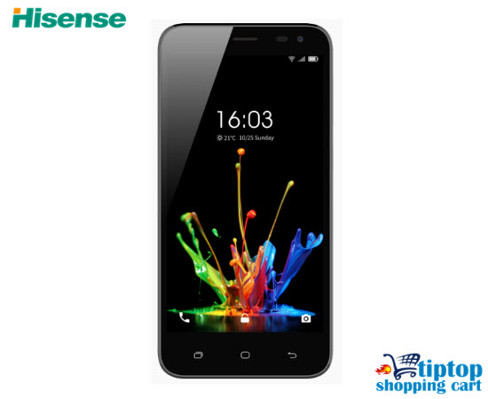 hisense l675s 5 0 in infinity lite s smartphone black online shopping south africa tiptop. Black Bedroom Furniture Sets. Home Design Ideas